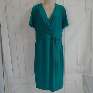 Jones New York Aqua Midi Dress